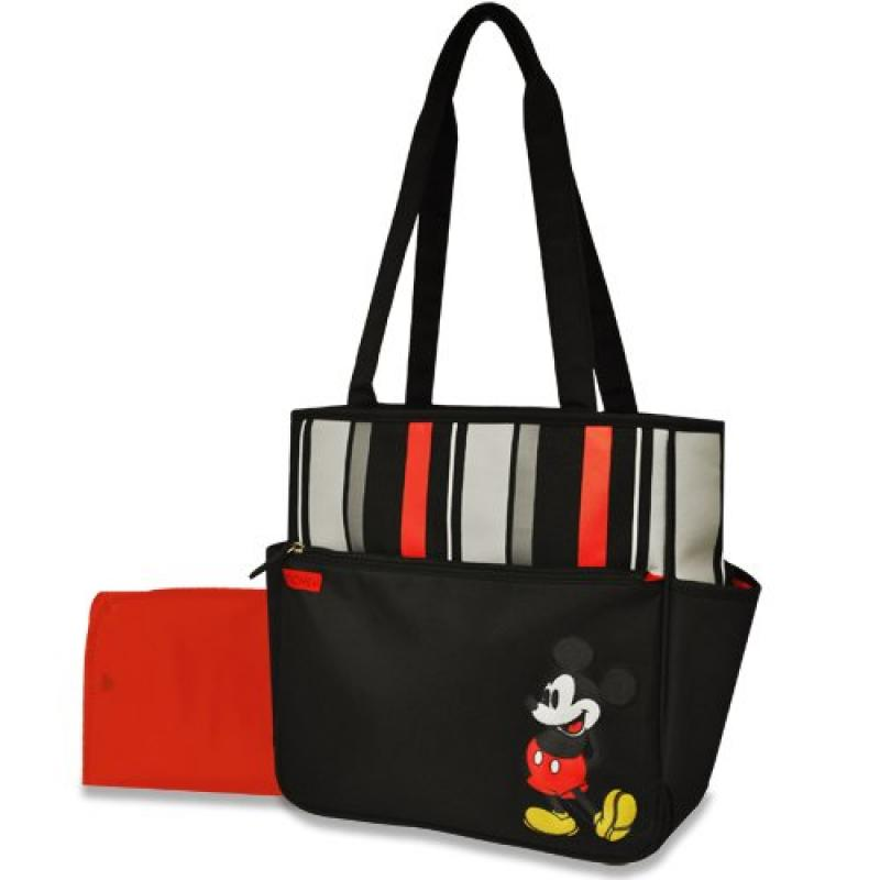 Disney Stripe Tote, Mickey