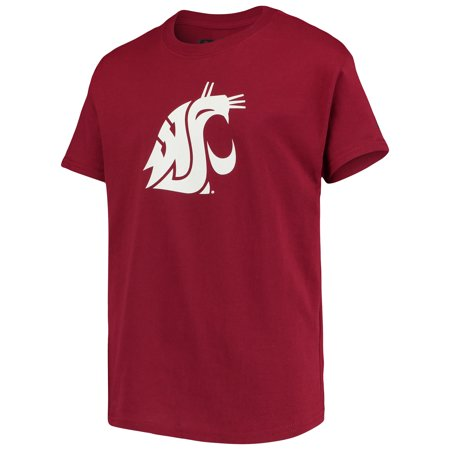 Washington State Cougars Russell Athletic Youth Oversized Graphic Crew Neck T-Shirt -