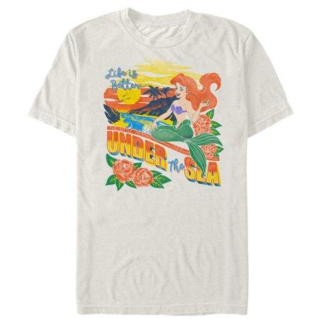 The Little Mermaid Men's Tropical Life T-Shirt