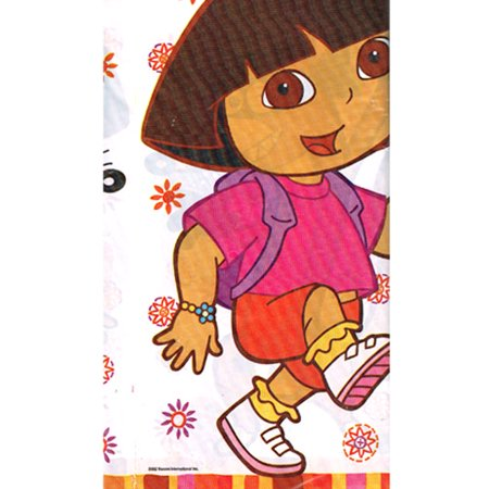 Dora the Explorer 'Fiesta' Plastic Table Cover -