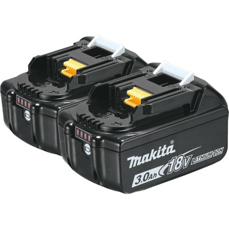 Makita 18-Volt LXT Lithium-Ion High Capacity Battery Pack 3.0Ah with Fuel Gauge (2-Pack) (New Open Box)