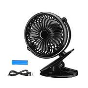 Portable Clip Fan Rechargeable Clip Fan Electric Clip Fan Office Clip Fan Adjustable Clip Fan