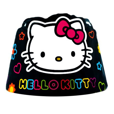 Hello Kitty 'Neon Tween' Paper Crowns - Hello Kitty Party Supplies Party City
