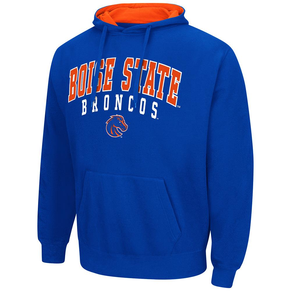 Mens NCAA Boise State Broncos Pull-over Hoodie (Team Color) by Colosseum