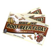 Mike and Ike Limited Edition Candy Root Beer Float Flavored Chewy Candies Theater Box, 3 Pack, 5 Ounces Each