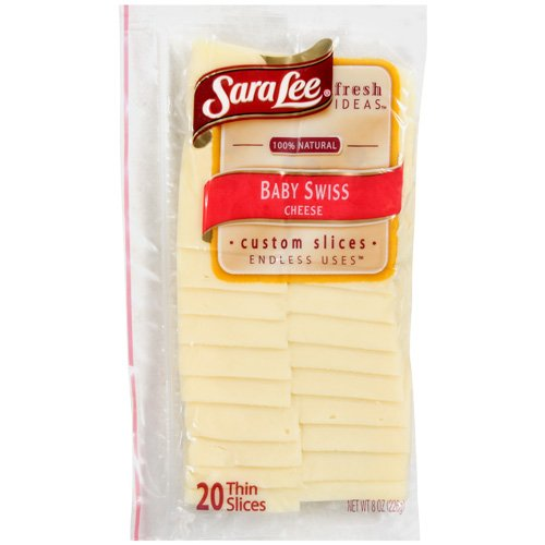 Sara Lee Baby Swiss Cheese, 8 oz