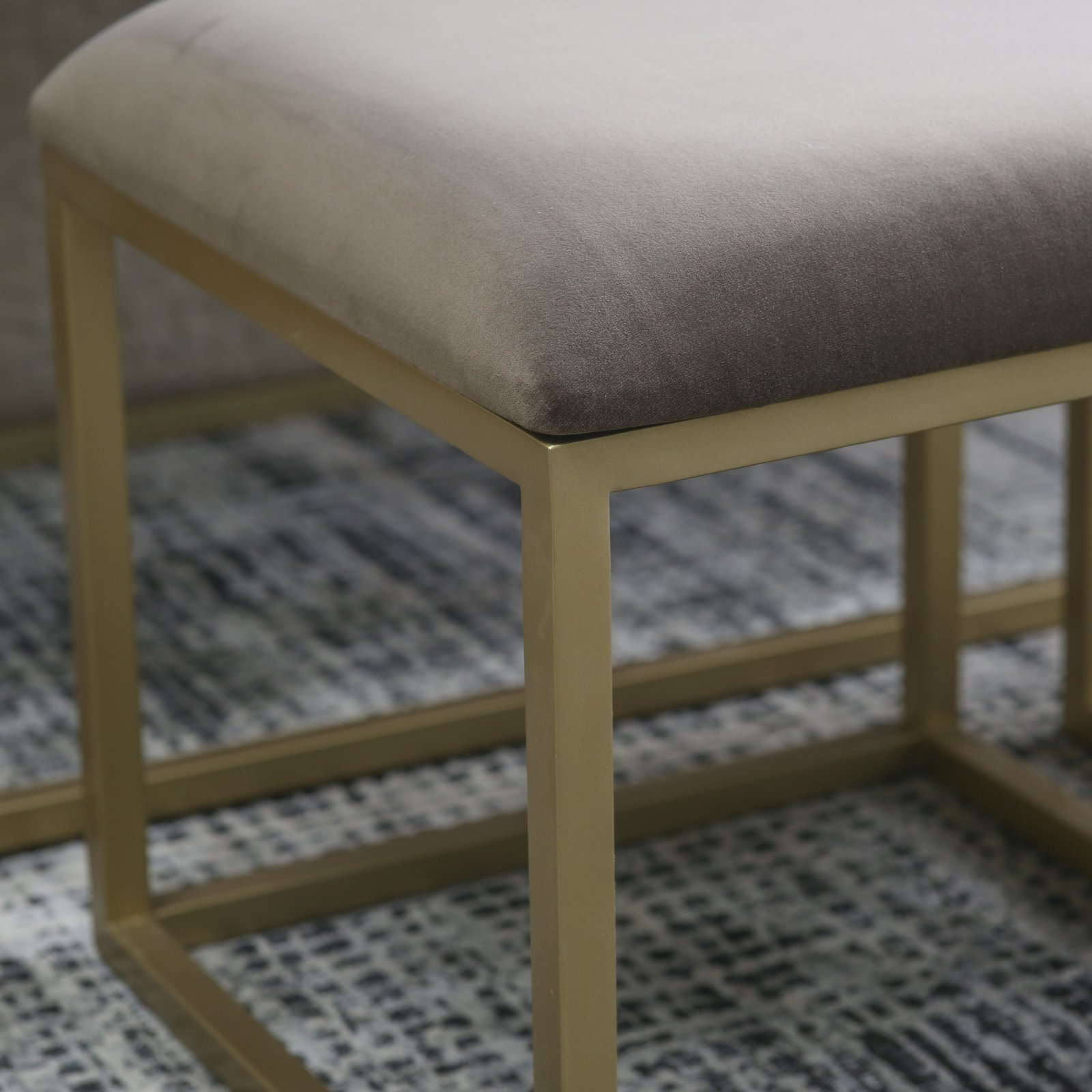 Awesome Belham Living Nova Nesting Bench And Ottomans Onthecornerstone Fun Painted Chair Ideas Images Onthecornerstoneorg