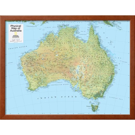 2014 australia physical national geographic atlas of the world 2014 australia physical national geographic atlas of the world 10th edition framed print wall art by national geographic maps walmart gumiabroncs Images
