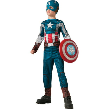 Captain America 2 Retro Classic Child Halloween Costume - Retro Halloween Costume