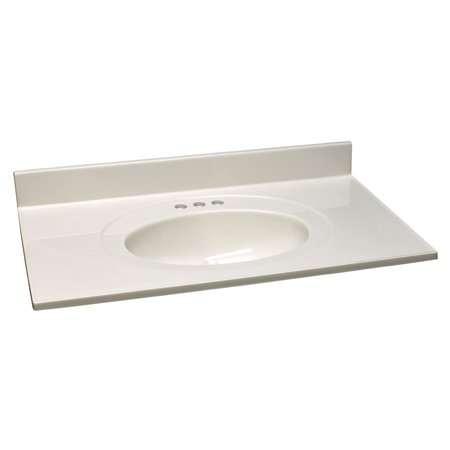 25 Cultured Marble (Design House 552810 Cultured Marble Vanity Top 25