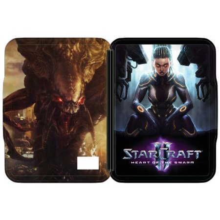 StarCraft 2 II: Heart of the Swarm Limited Edition Exclusive FutureShop SteelBook Case [G1 Size, No Game, HOTS] NEW, Replacement case for the game By Blizzard Entertainment From (Starcraft Ii Heart Of The Swarm Collectors Edition)