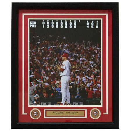 Roy Halladay Framed Philadelphia Phillies Nlcs No Hitter 16X20 Photo