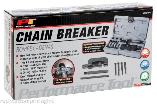 OTC 4744 Chain Breaker and Riveting Tool Kit