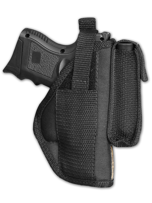 Barsony Right OWB w  Magazine Pouch Holster Size 15 Beretta Glock S&W Taurus Walther Compact 9 40 45 by Barsony Holsters & Belts