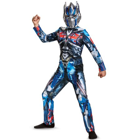 Transformers Optimus Prime Child Halloween Costume, One Size, L (10-12) - Kids Transformers Costume
