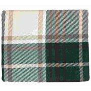HD Heavyweight Green & Beige Plaid Flannel Sheet Set Full Bed Sheets Bedding