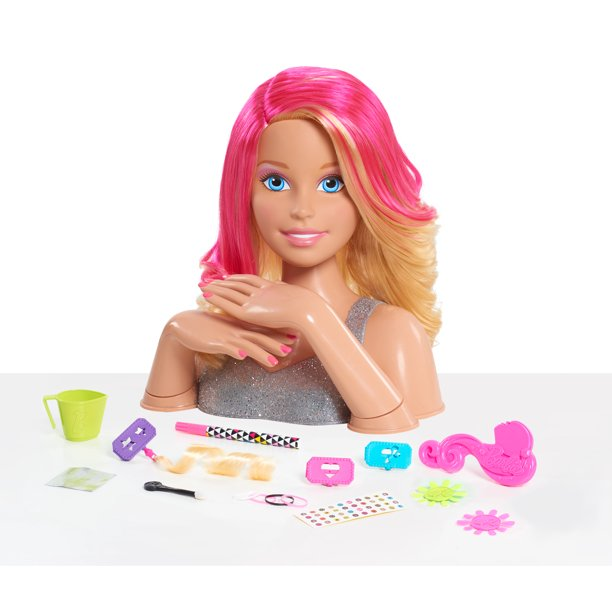 Barbie Flip Reveal Deluxe Styling Head Blonde Walmart Com Walmart Com