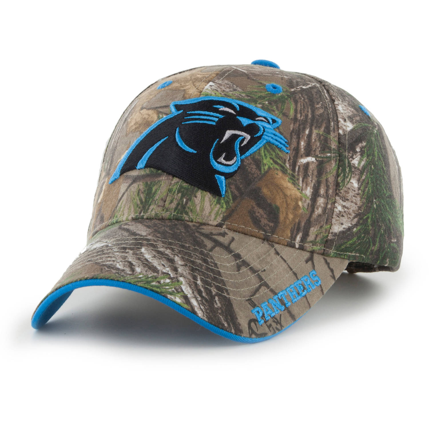 NFL Carolina Panthers Realtree Frost Cap / Hat by Fan Favorite