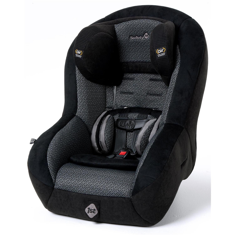 Silla De Carro Para Bebe Tabla de asiento de Auto Convertible aire - negro + Safety en Veo y Compro