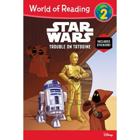 World of Reading Star Wars Trouble on Tatooine (Level
