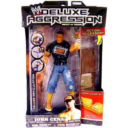 WWE Wrestling Deluxe Aggression Best of 2008 John Cena Action