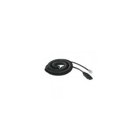 bd3f68ee4b8 VXI Corporation 201492 QD 1029P 10 Feet Audio Cable for VXI Passport-P  series Headset - Walmart.com