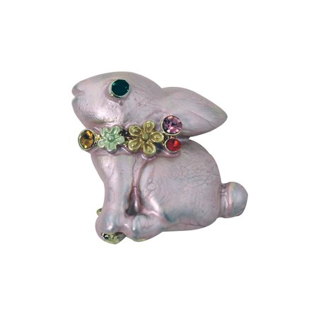 Pin The Tail On The Bunny - Easter Bunny Pin Pink