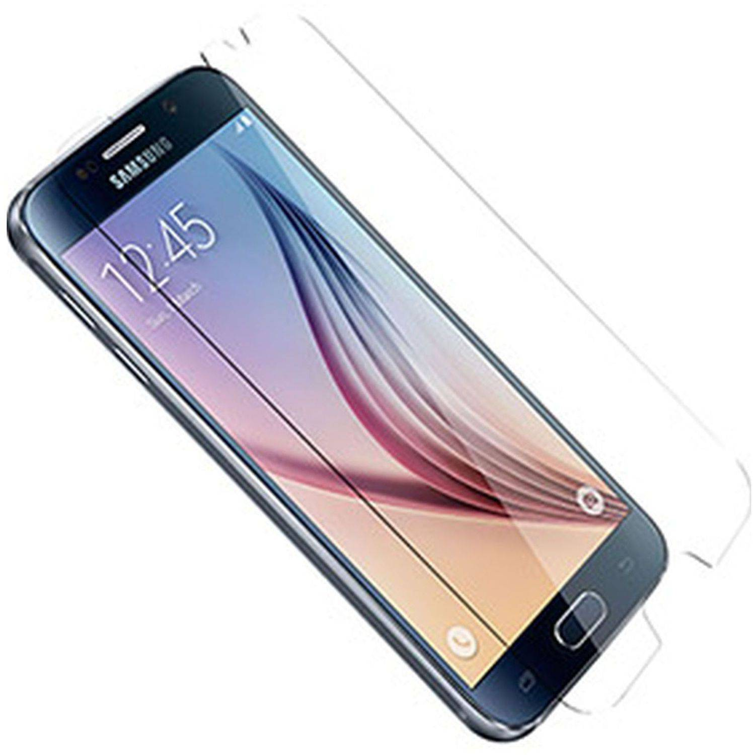 Alpha Glass Screen Protector for Samsung Galaxy S6, Crystal Clear