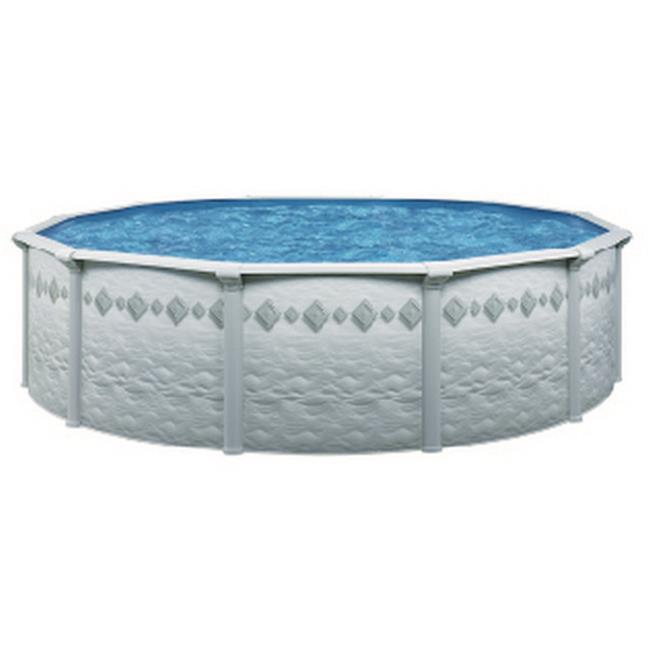 Aquarian 200 Pool Kit with Tilestone Wall - 15 ft. dia. & 52 in. Deep