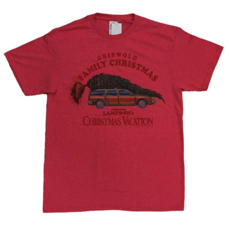 national lampoons christmas vacation mens red griswold family christmas t shirt - National Lampoons Christmas Vacation Merchandise