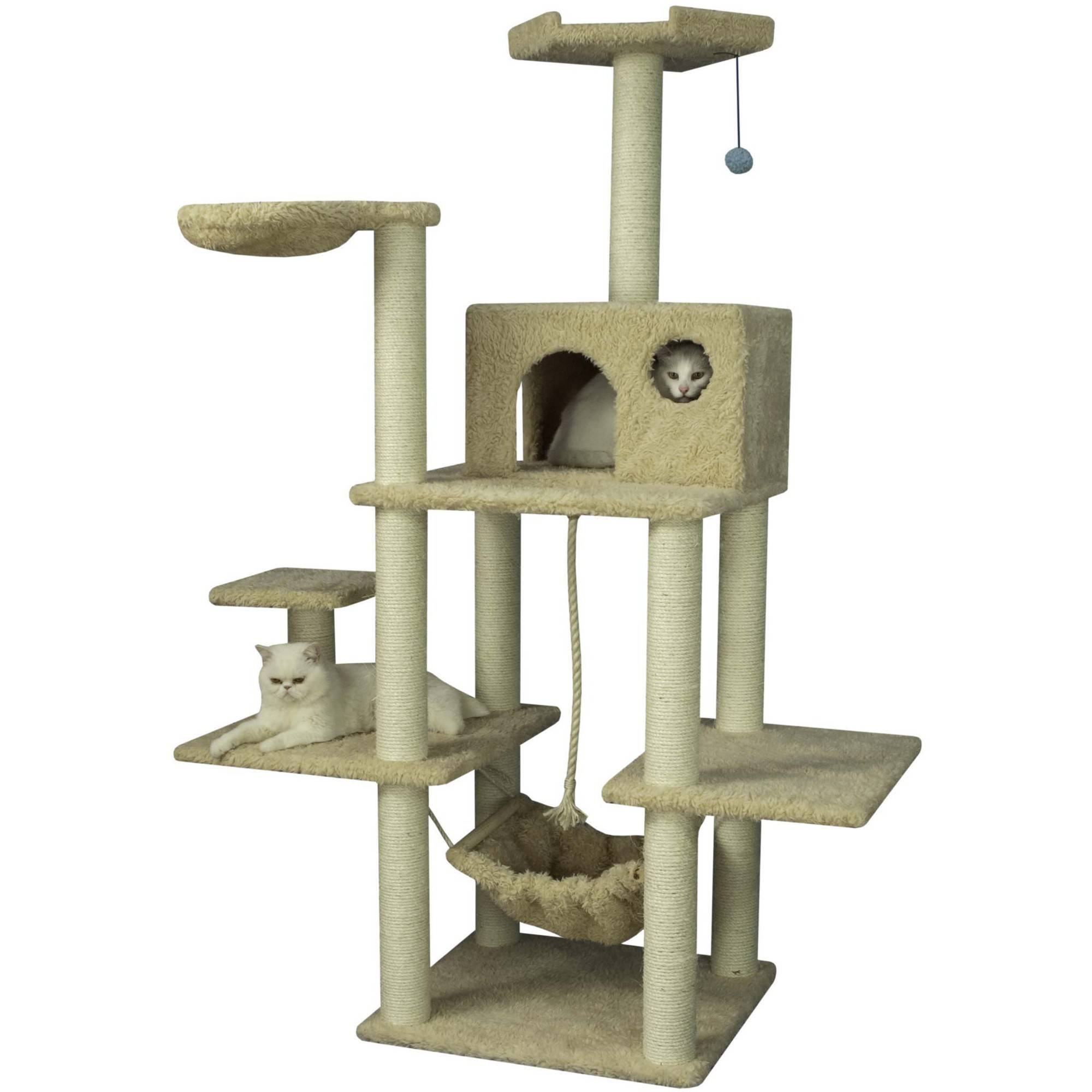 Armarkat Classic Cat Tree Model A6901, 69 inch Beige