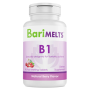 BariMelts B1, Dissolvable Bariatric Vitamins, Natural Mocha Flavor, 60 Fast Melting Tablets