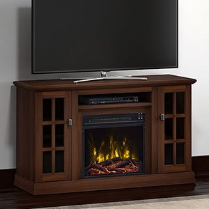 Classic Flame Kinney Electric Fireplace Tv Stand Stanton Birch