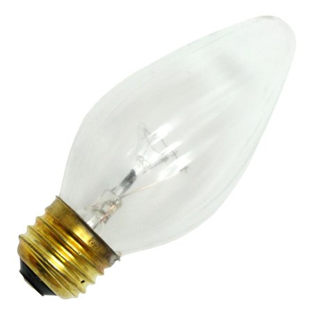 Damar 14221 - 60F15/CL/SS 130V 7648B F15 Decor Flame Tip Light Bulb