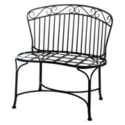 Deer Park Ironworks 32-in. Steel Imperial Garden Bench