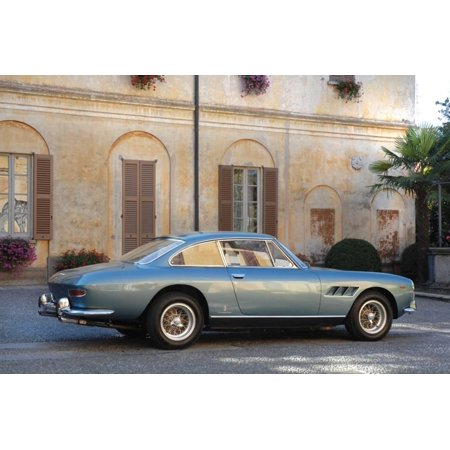 330 Coupe (1968 Ferrari 330 GTC Coupe Print Wall Art )