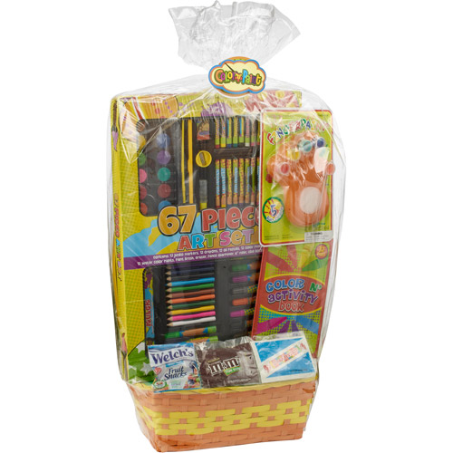 Wondertreats Art Set & Activity Basket