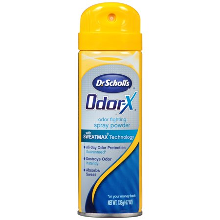 Dr. Scholl's Odorx Odor Fighting Spray Powder, 4.7
