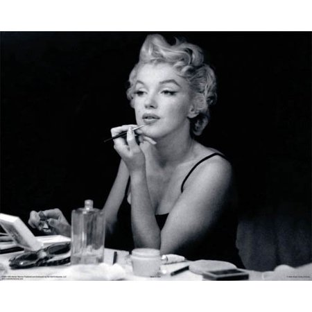 Marilyn Monroe Mirror Lipstick Make Up Poster New (Marilyn Monroe Cocktail)