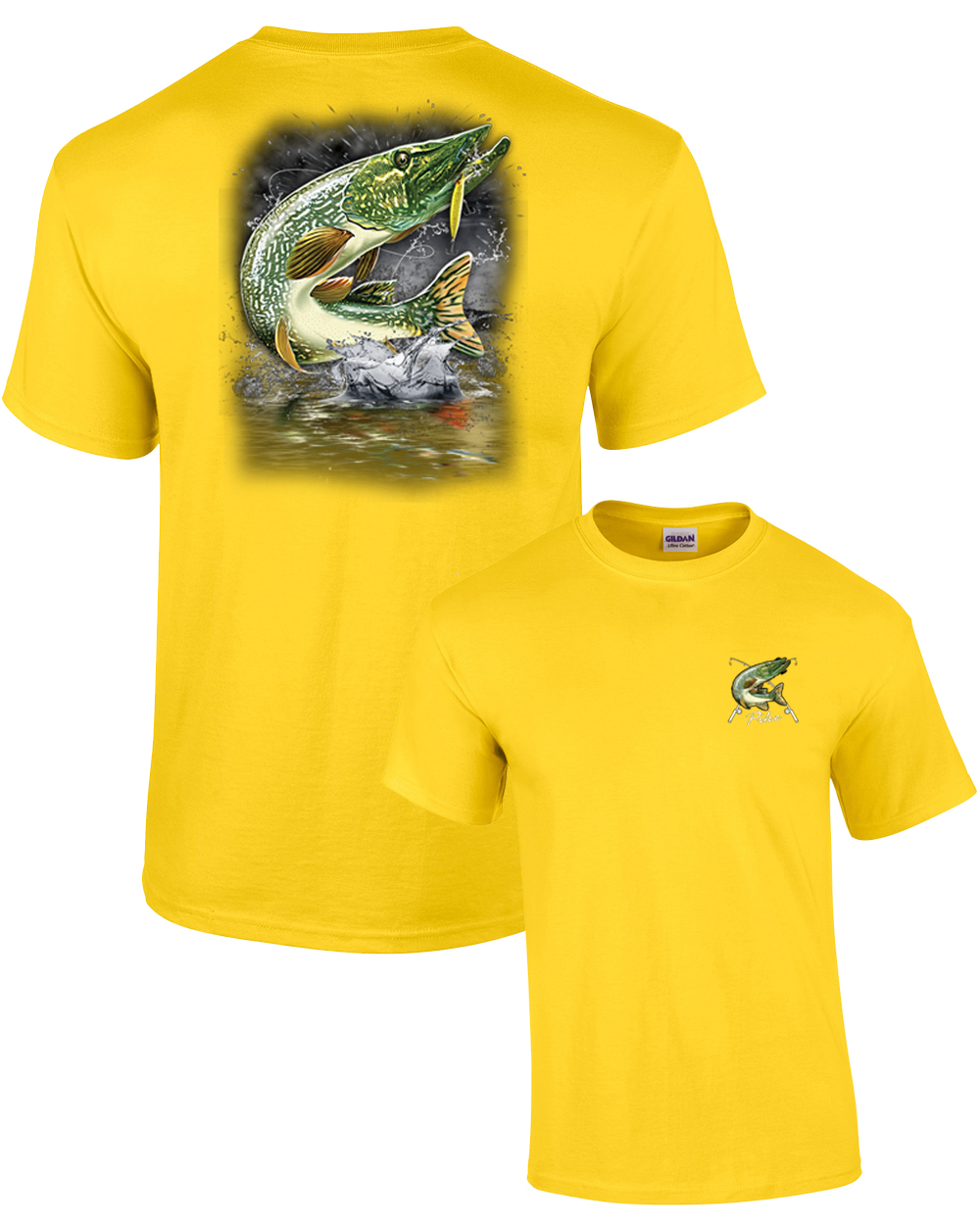 Got Pike Mens Tee Shirt Pick Size Color Small-6XL