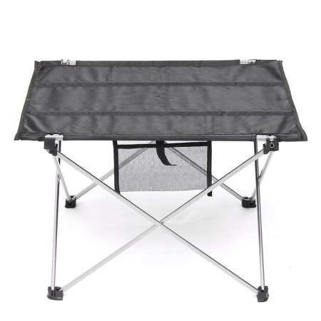 Folding Garden Table Oxford Fabric Table with Bag Outdoor Camping Hiking Picnic