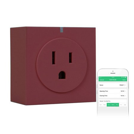 Zettaguard S31 Wi Fi Smart Socket Outlet Us Plug With Energy Meter  Turn On Off Electronics From Anywhere  Homemate   Purple