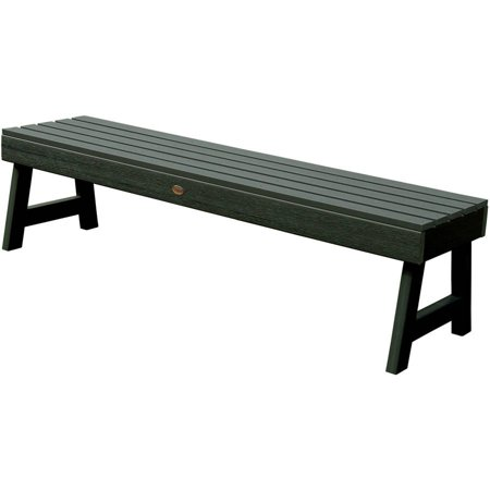 highwood® Eco-Friendly Recycled Plastic Weatherly Picnic Bench, 5' ()