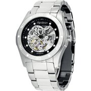 Men's Stainless Steel Automatic Skeleton Watch