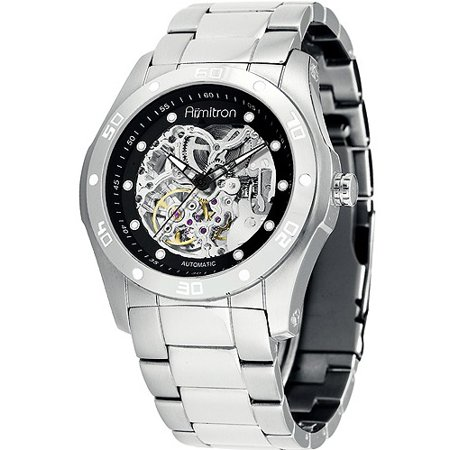 Armitron mens stainless steel automatic skeleton watch walmart armitron mens stainless steel automatic skeleton watch fandeluxe Gallery