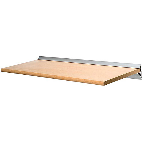 Homestyle Gallery Shelf with Silver Bracket