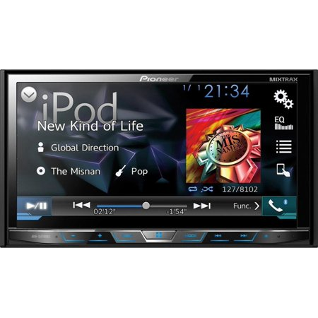 "PIONEER AVH-X4700BS 7"" Double-DIN DVD Receiver with Motorized Display, Bluetooth(R), Siri(R) Eyes Free,... by"