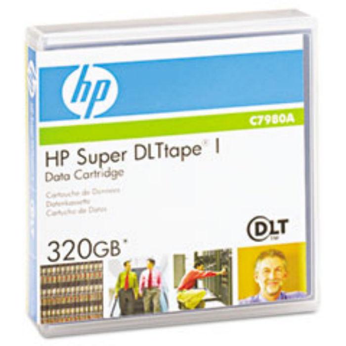 Refurbish-ECHO HP Super DLT-I Data Tape (220/320GB) (C7980A)