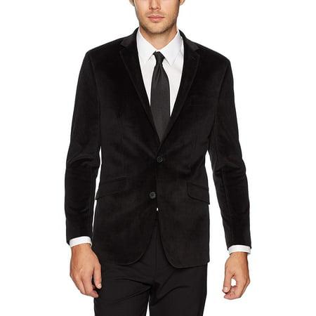 Kenneth Cole Two Button Blazer (Men Slim Fit Two Button Blazer 42)