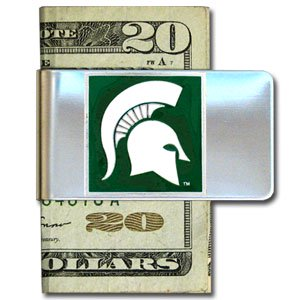 Michigan Monkey (Michigan State Steel Money Clip)